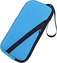 XBERSTAR Soft Carrying Pouch Sleeve Case Neoprene Bag Cover for Texas Instruments TI-83 TI-89 TI-84 Plus C Silver Edition Casio Graphing Calculator (Blue)