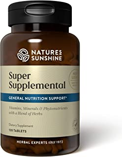 Sponsored Ad - Nature's Sunshine Super Supplemental, 120 Tablets | Multivitamin for Men and Women Provides Vitamins, Miner...