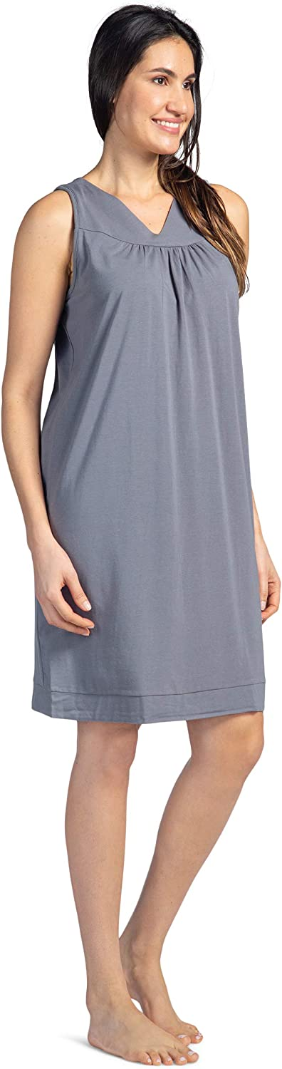 Fishers Finery Women's Tranquil Dreams Sleeveless Nightgown