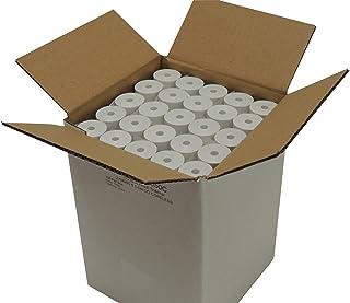 "Thermal Paper 2-1/4"" x 50 ft, 1.25"" / 30mm diameter, CORELESS, BPA Free, 100 rolls"