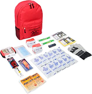 First My Family All-in-One 2-Person Premium Disaster Preparedness Survival Kit with 72 Hours of Survival and First-Aid Supplies FMF2PKIT