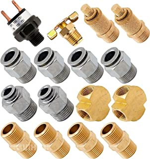 Vixen Air Set of Fittings for Four 3/8
