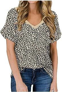 JESPER Women Workout Trendy Wrap Bodice Short Tees Stretchy Unique Slim Coss Shirts Crop Tops Black