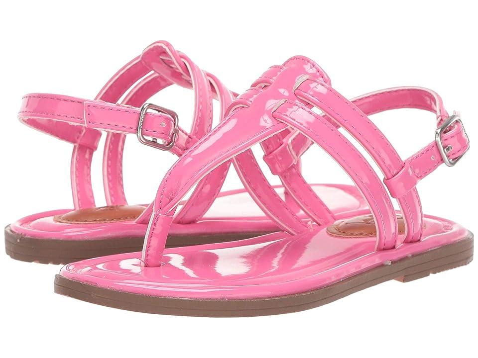 Polo Ralph Lauren Kids Tierney (Toddler) (Baja Pink Patent) Girl
