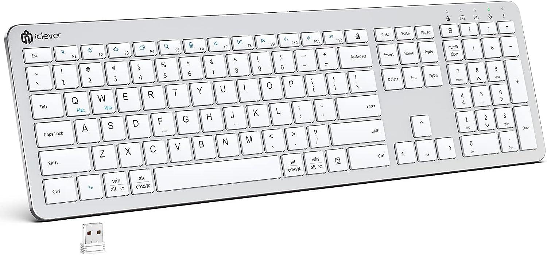 iClever GKA33S Wireless Keyboard $16.49 Coupon