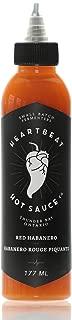 Heartbeat Hot Sauce - Red Habanero, 6 oz. - Small Batch & Handmade, Vegan, Gluten Free, Preservative Free, Featured on Hot Ones!