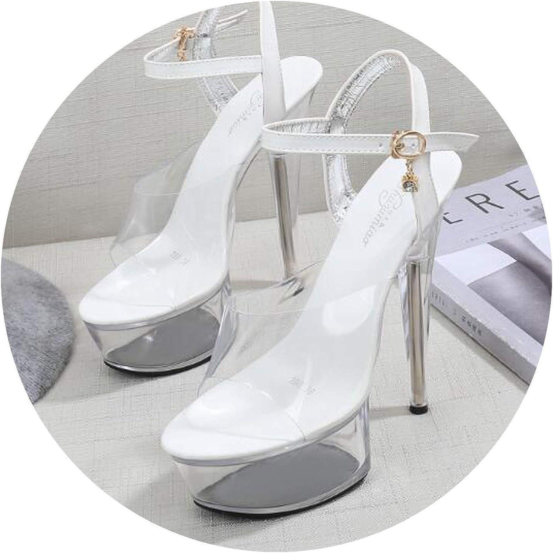 skor d 'été sandales gladiateur sandales plateforme d' été skor skor skor haut talon transparent strip - tease skor de mariage skor  rabatt