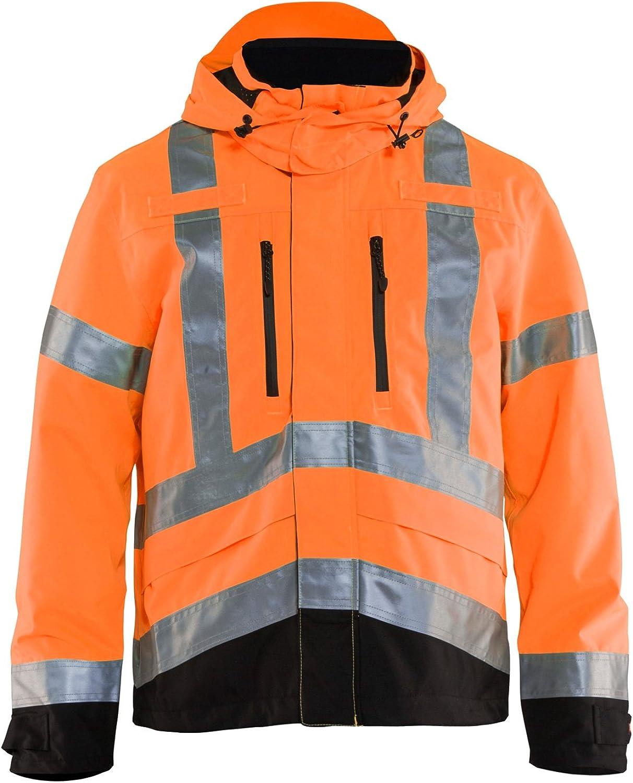 Clothes Made for Manual Labor: Construction, Carpentry, Etc. Workwear Bundle: Blaklader Hi-Vis Shell Jacket & Hammer Hook