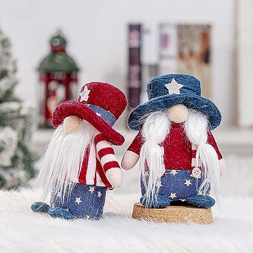 wholesale OPTIMISTIC 2 Pcs Valentines Gnomes Plush Decorations Mr & Mrs Gnomes Handmade Swedish Tomte Decor Valentines Home Table sale Gnomes Decor Ornaments Valentines Gift for sale Women Men - 6inch sale