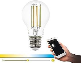 EGLO Connect LED E27 lamp, Smart Home Vintage gloeilamp helder, 6 Watt (komt overeen met 60 watt), 806 lumen, E27 LED dimb...
