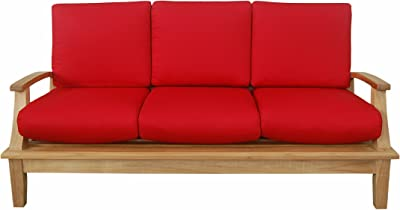 Anderson Teak DS-103 - No Cushion Brianna Deep Seating Sofa with Cushion