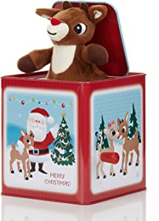 Rudolph the Red-Nosed Reindeer Jack-In-The-Box