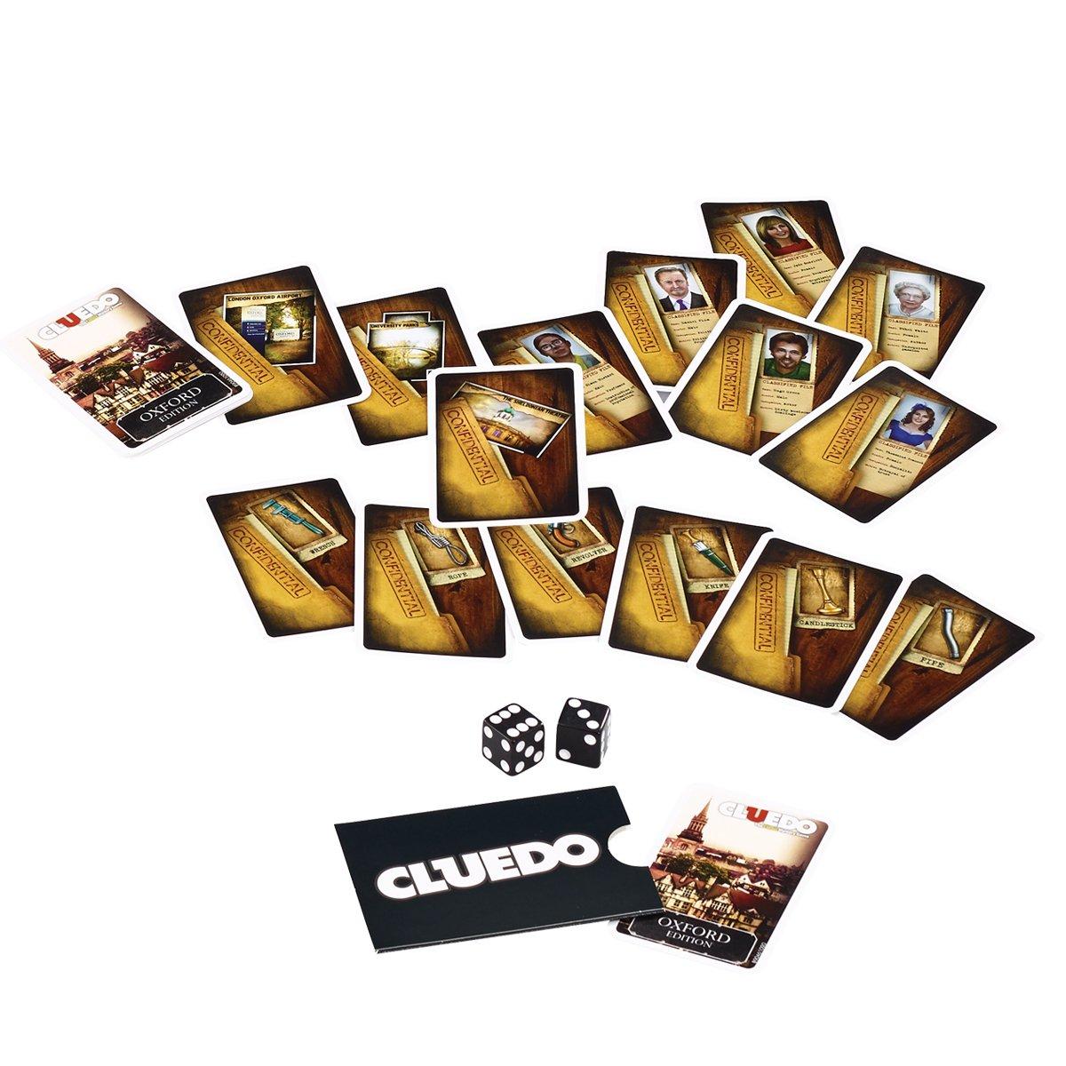 Winning Moves Oxford Cluedo Misterio Junta Juego: Amazon.es: Juguetes y juegos