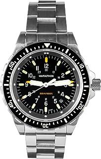 Watch WW194018 JSAR Swiss Made Military Jumbo Diver's Watch with MaraGlo Illumination, Sapphire Crystal (46mm)
