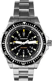 Marathon Watch WW194018 JSAR Swiss Made Military Jumbo Diver's Watch with MaraGlo Illumination, Sapphire Crystal (46mm)