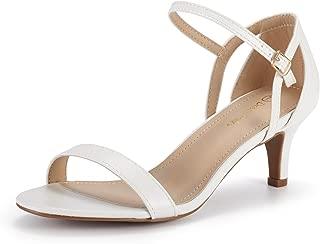 Women's Lexii Fashion Stilettos Open Toe Pump Heel Sandals