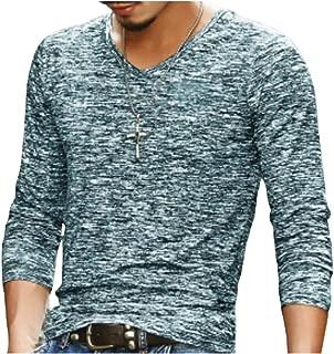 [エムエルーセ] ロング tシャツ 薄手 プリント柄 アウター ゆったり長袖 伸縮 秋 秋冬 4 カラー M - 2XL メンズ