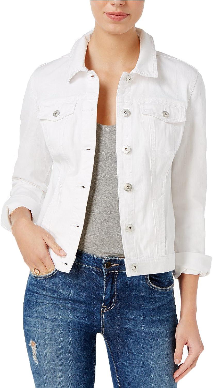 Maison Jules Womens Denim Jacket
