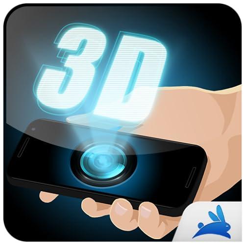3d hologram camera simulator