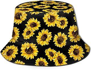 قبعات دلو الزهور للمراهقات والفتيات قبعات دلو لطيفة للنساء مثالية للجنسين قبعة دلو الشاطئ مذهلة ملونة روز