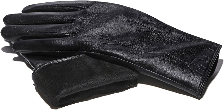 MoDA Women's Ms. Prague Genuine Leather Fully Lined Winter Gloves