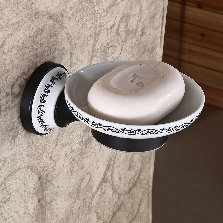hasta un 60% de descuento LY-Soap dish Jabonera Creativa de Bronce Negro Cobre Jabonera Jabonera Jabonera Antigua Retro Cobre Cobre Europeo Jabonera Herrajes para bao  n ° 1 en línea