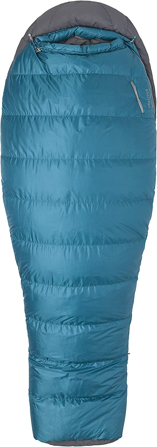 Marmot Lozen 30 Women's Lightweight Sleeping Bag, 30Degree Rating, Late Night Steel Onyx