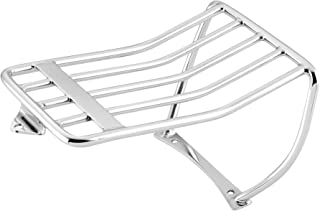 Raider Chrome 33-7204 Rear Plated Motorcycle Luggage Rack 97-99 Softail