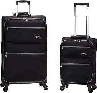 Rockland Gravity 2-Piece Softside Lightweight Spinner Luggage Set