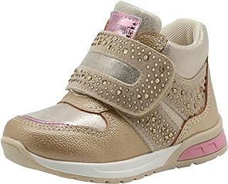 efbec221adf9 Apakowa Kids Toddler Girl s Spring Autumn Cute Casual Shoes Side Zipper