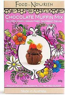 Food to Nourish Food to Nourish Organic Fudgy Chocolate Muffin Mix 360 g