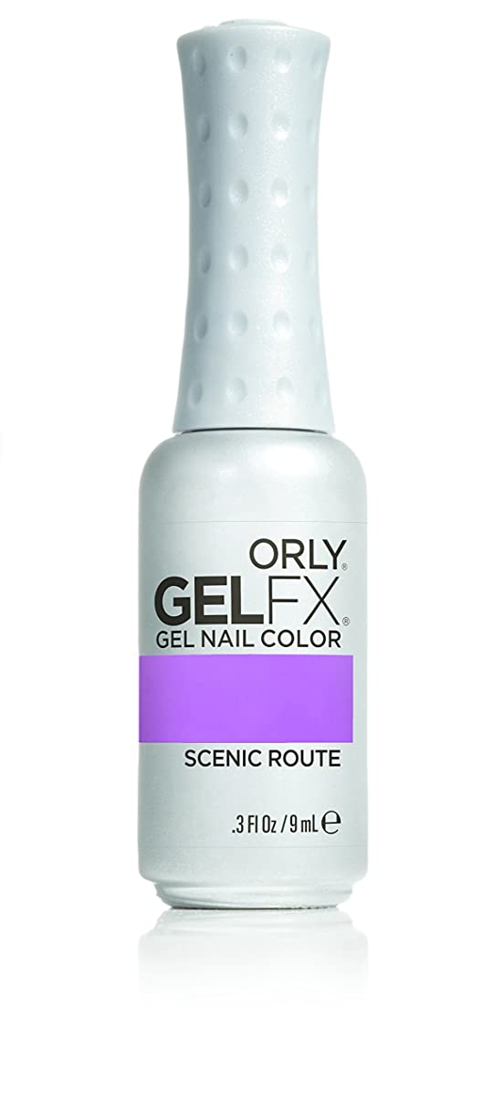 失態勃起後悔Orly GelFX Gel Polish - Scenic Route - 0.3oz / 9ml