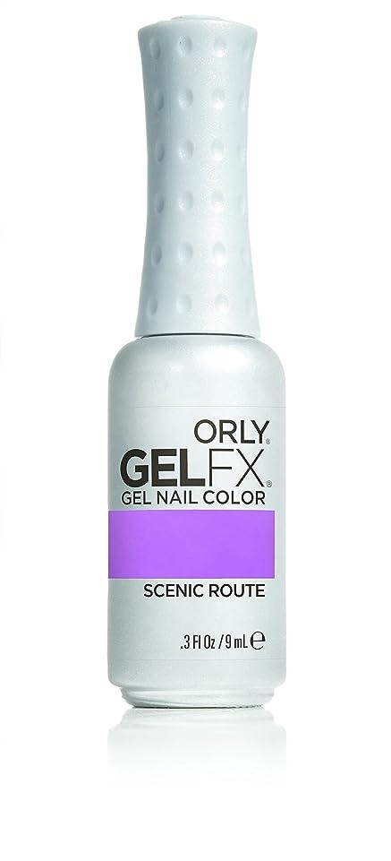 重くするブランドインスタントOrly GelFX Gel Polish - Scenic Route - 0.3oz / 9ml