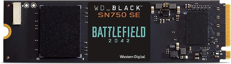 WD_BLACK SN750 SE 500Go Disque SSD NVMe et code du jeu PC Battlefield 2042, avec des vitesses de lecture allant jusqu'à 3...