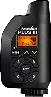 PocketWizard Plus III Transceiver Black