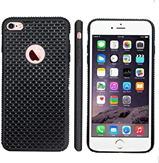 Manords iPhone 6 Case iPhone 6s Case Slim Light Carbon Fiber Pattern Style, Protective Soft TPU Shock Absorbing Cover Compatible iPhone 6 6s with Extra Phone Case and Screen Protector