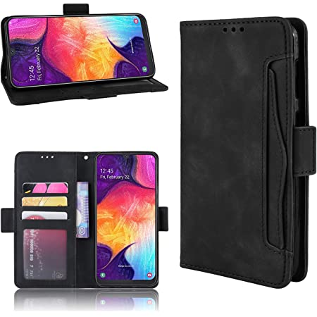 Flip Protective Wallet Cover for Samsung Galaxy A02S with Magnetic Viewing Stand Function Reevermap Samsung Galaxy A02S Phone Case Leather Purple Butterfly