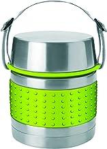 BWHFH Termo de Acero Inoxidable para Alimentos Calientes Contenedor Aislado Almuerzo con Cuchara Plegable Frasco T/érmico Comida Termo Box,Verde,0.9L