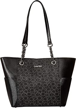 Key Item Monogram Tote