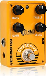 Super Overdrive Effects Pedal,Natural Overdrive Classic...