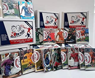 Soccer-16 pack sealed box of Soccer cards with 15 different modern & vintage cards from all brands in each pack. Guaranteed one autograph or memorabilia card per box! Great for the starting Collector!
