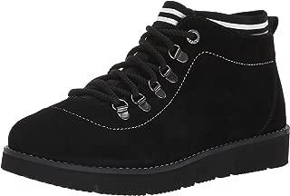 Skechers BOBS Women's Bobs Rocky-up Over. Suede Sock Fit W Memory Foam Hiking Boot