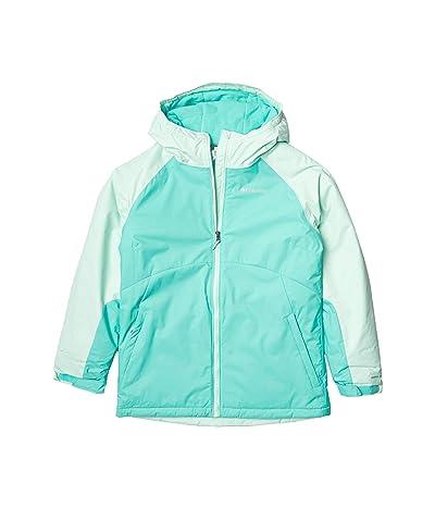 Columbia Kids Alpine Action II Jacket (Little Kids/Big Kids) (Dolphin Heather/Sea Ice) Girl