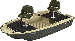 """Sun Dolphin Pro 120 Fishing Boat (Beige/Green, 11'3"""")"""