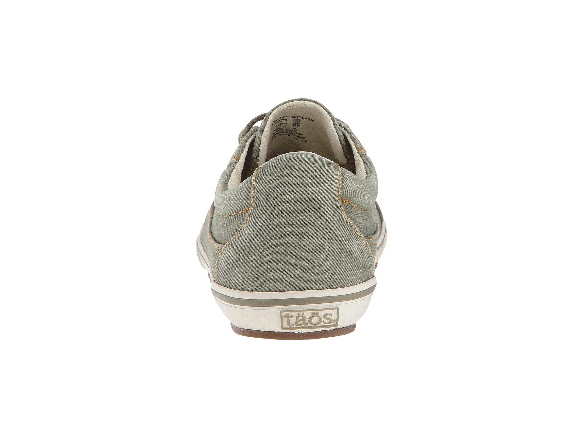Taos Moc Footwear Sage Distressed Star qvZwS