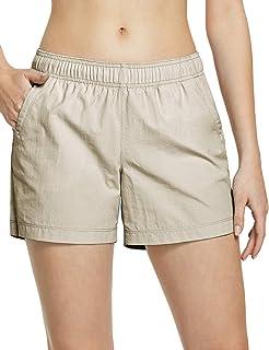 UPF 50+ UV//SPF Stretch Camping Shorts Quick Dry Lightweight Travel Shorts CQR Womens Hiking Shorts Outdoor Apparel