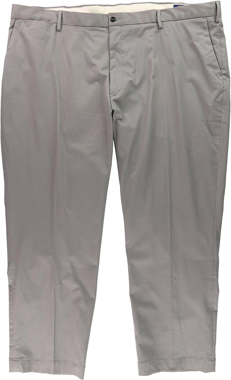 Ralph Lauren Mens Classic Casual Trouser Pants, Grey, 48 BigW x 30L