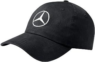MB Gorra de béisbol, diseño de Mercedes Benz, Color Negro