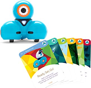 Wonder Workshop Dash Robot with Dash Challenge Cards Bundle - STEAM Learning Toys for Girls and Boys Ages 6+, Multicolor (Amazon Exclusive)