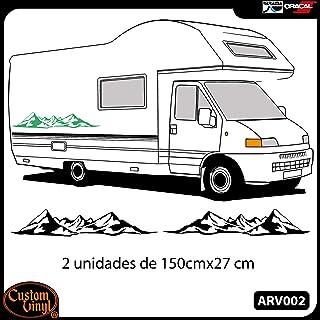 Explora el mundo divertida aventura Coche Camper Caravana Novedad Vinilo Autoadhesivo Con